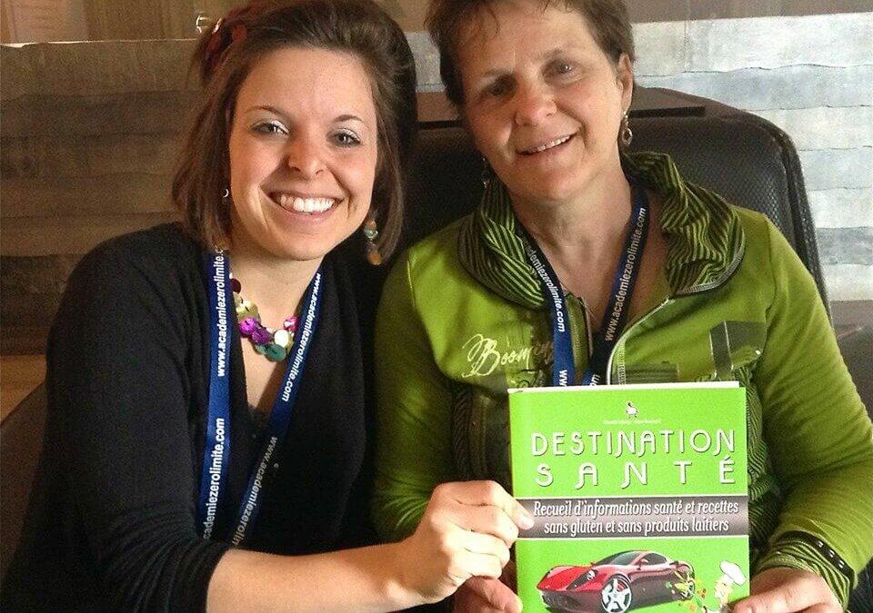 ENTREVUE avec Chantale Laberge qui réalise son rêve de co-écrire un livre !