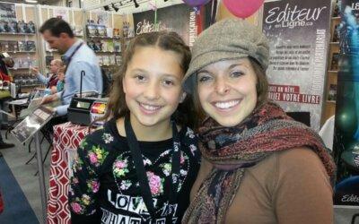 Marie-Jeanne, une nouvelle auteure âgée de dix ans INSPIRANTE !